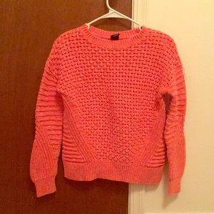Salmon-Colored Sweater